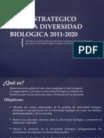 PLAN ESTRATEGICO PARA LA DIVERSIDAD BIOLOGICA 2011-2020.pptx
