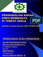 Kepmen 187-1999 Pengendalian BBB
