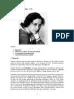 Apuntes Hannah Arendt
