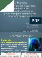 Desenvolvimento e avaliação de um biossensor amperométrico à base de peroxidase para determinação de neurotransmissores.