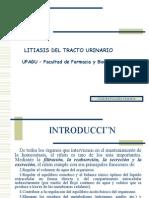 LITIASIS DEL TRACTO URINARIO