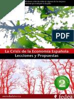 La Crisis de La Economia Espanola