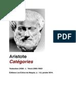 Aristote Catégories