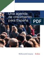 Una Agenda de Crecimiento Para España