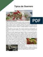 Comida Tipica de Guerrero