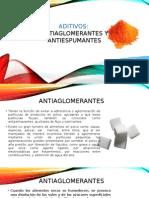 Antiaglomerantes y Antiespumantes