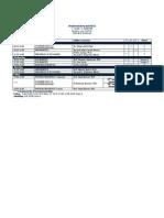Courses University of Rijeka. Schedule.