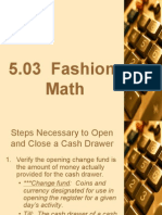 FM 5.03 Fashion Math