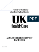Adult Nutrition Support Handbook