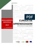 Regulamento Especifico Cursos Aprendizagem 2014
