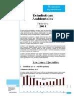 estadisticas-ambientales-febrero-2014 cambio climatico de lima.docx