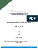 Spectrum Forwarding Profile 2003_UK Amend
