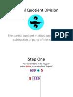 partial quotient division tutorial