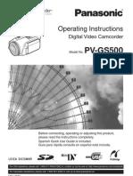 Pvgs500 Multi Manual