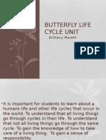 art butterfly unit