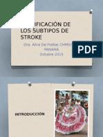 Clasificación de Los Subtipos de Stroke
