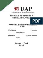 Trabajo Academico de Practica Procesal Civil