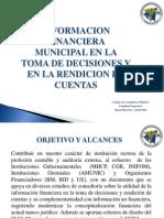Informacion Financiera Municipal - Toma de Decisiones y Rendicion de Cuentas - 5-04-2011
