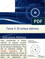 Tema 2 - Enlace Atomico