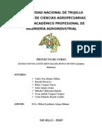 Proyecto Extracion de Aceite de Hongo de Pino Sabado