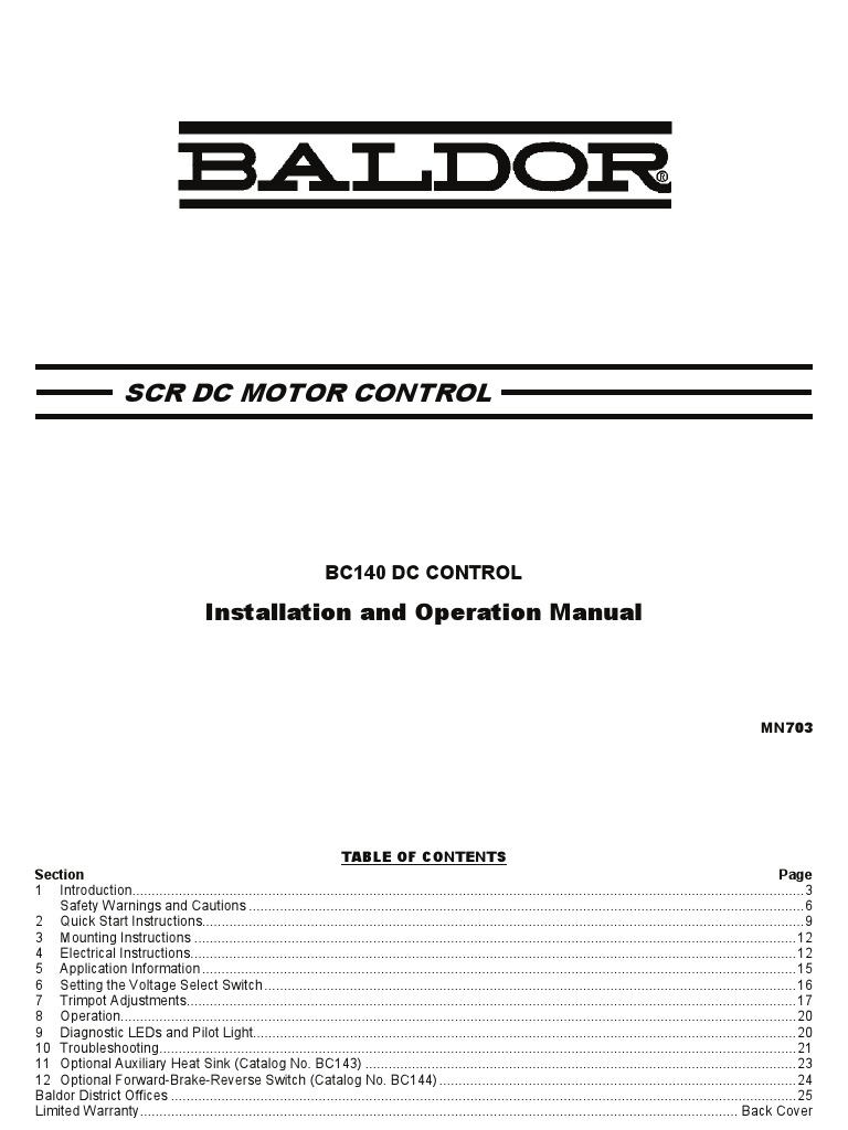 Baldor vs1md21 microdrive.