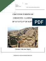 Chilecito y Circuitos Turisticos