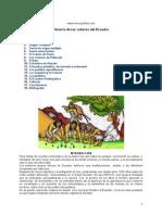 Historia de las Culturas Ecuador