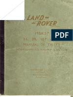 Manual Taller Land Rover Series I (1954-1957)