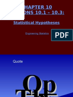 Statistics/Statistical Hypothesis