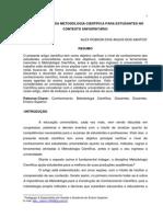 A IMPORTÂNCIA DA METODOLOGIA CIENTÍFICA PARA ESTUDANTES NO CONTEXTO UNIVERSITÁRIO