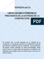 16Gestión Ambiental Propuesta Reglamento Ruidos Construcción