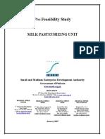 Milk Pasteurizing Unit