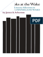 -The Books at the Wake. a Study of Literary Allusions in James Joyce's Finnegans Wake-, By James S. Atherton