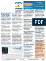 Pharmacy Daily for Mon 26 Oct 2015 - Farmaforce set for listing, US anti-opioid abuse push, Breast cancer survival up 16%, Weekly Comment and much more
