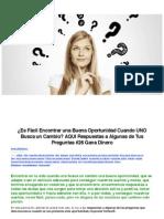 PDF post 26 ¿Es Fácil Encontrar una Buena Oportunidad