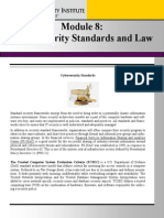 Cybersecurity Standards and Law