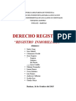 REGISTRO INMOBILIARIO