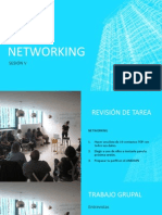 Sesióon v Networking