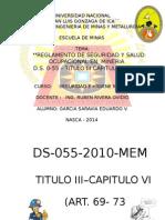 Garcia Saravia Eduardo v. Seguridad Minera