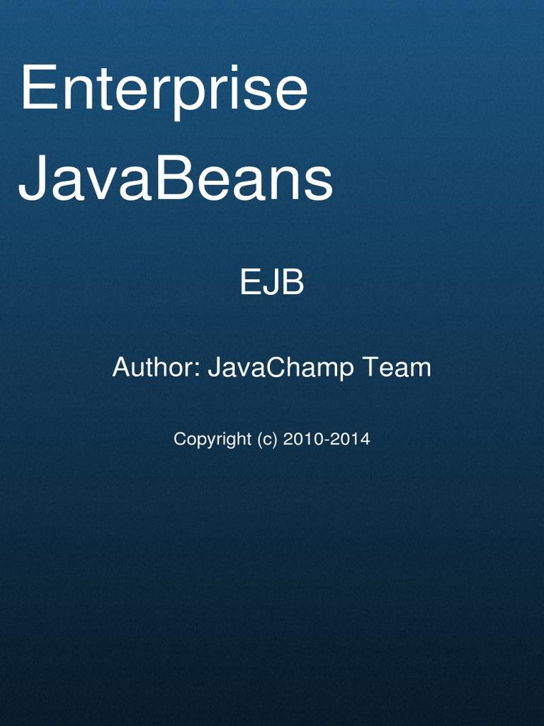 Enterprise javabeans ejb mock exams enterprise java beans java enterprise javabeans ejb mock exams enterprise java beans java platform baditri Images