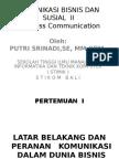 komunikasi bisnin