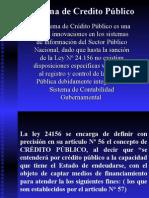 Sistema de Credito Público
