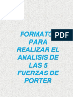 Analisis cinco Fuerzas Porter