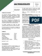 O-p.pd-33 Inserto Caldo Tioglicolato