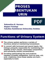 Kuliah 1 Proses Pembentukan Urine