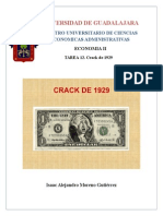 Crack de 1929 y sus repercusiones en America Latina