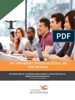Programa Vii Congreso Internacional, Universidad Autónoma del Perú