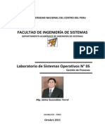 Laboratorio SO05 Gestion Procesos