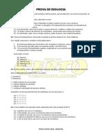 Prova Biologia UFRGS 2014