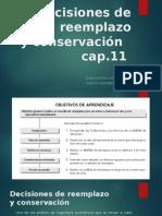 Decisiones de Reemplazo y conservacion